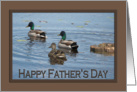 Just Ducky - Happy Father's Day card