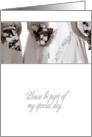 Please Be My Bridesmaid (Wedding) card