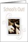 Graduation - School's Out card