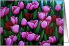 Bridget's Tulips card