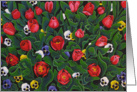 The Tulip Garden card