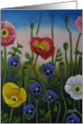Dancing Poppies card