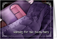 Waiting for the Tooth Fairy card