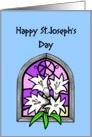 Happy St. Joseph's Day card