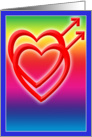 Two Hearts in Love, Gay card