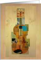 Composed Violin card