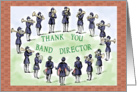 Thank You Band Director/Conductor card