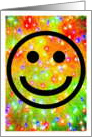 Lesbian Humor, Tie Dye, Happy Face, Smiley Face, Lesbian, Love, Hang In There, card