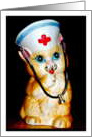Happy Nurse's Day, Kitty Cat card