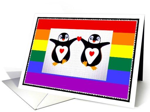 Lesbian, Love, Penguin Dance