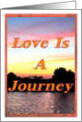 Love Is a Journey, Sunset card