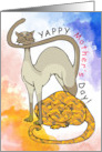 Yappy Mother's Day! From the cats card