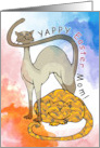 Yappy Easter Mom! From the cats card
