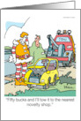 Belated birthday -Sorry I missed your birthday. I had a little engine card