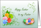 Happy Easter Pastor card