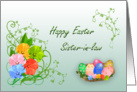 Happy Easter Sister-in-law card