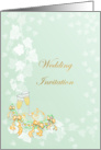 Wedding Invitation - Ivy leaves card