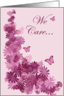 we care about you card