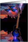 Flying In A Blue Fantasy card