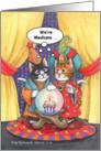 Medium Cats Birthday (Bud & Tony) card