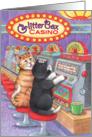 Cats Casino Birthday (Bud & Tony) card