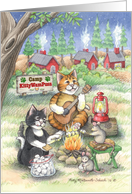 Camp Thinking Of You Cats (Bud & Tony) card