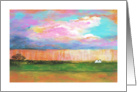 Abstract Landscape, April Showers, From Original Landscape Painting card