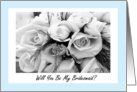 Sister Be My Bridesmaid? Wedding Request Invitation card