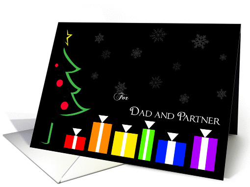 Rainbow Presents: Dad and Partner Christmas