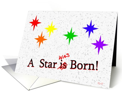 Gay Birthday: A Star Was Born