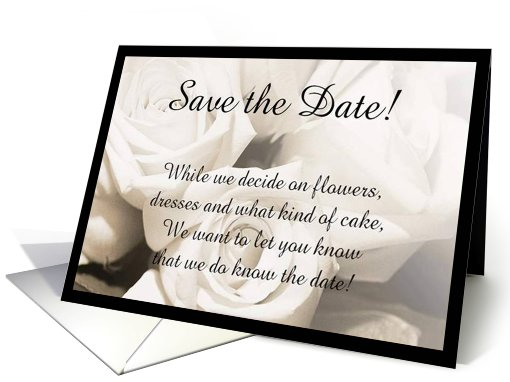 Gift and Greeting Card Ideas: Save the Date Wedding ...