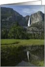 Yosemite Falls and Valley card