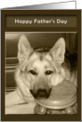 Father's Day - Man's Best Friend card
