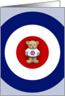 Ted On Target card