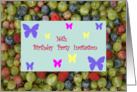 16th Birthday Party Invitation card