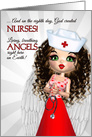Happy Nurses Day - Angel card