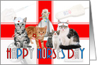 Nurses Day From the Group - Cats card