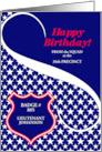 Custom Law Enforcement Birthday card