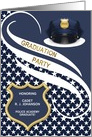 Custom Police Academy Graduation Party Invitation card