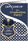 Custom Police Academy Graduation Party Invitation card