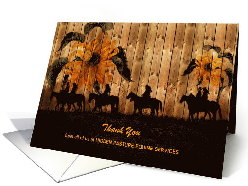 Paper Greeting Cards Specifically Created To Give A Bold And Professional Look Your Equine Related Business Great For Large Animal Veterinarians