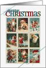 Vintage Santa Christmas Postage card