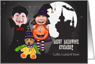for Grandma - Kids Halloween Costume Photo Card