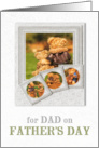 For Dad on Father's Day Teddy Bears card