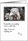 Happy Grandparents Day for Grandma Teddy Bears card