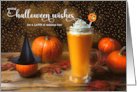Halloween Greetings From Our House to Yours Autumn Foliage card