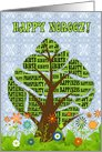 Happy Norooz Persian New Year Tree of Life card