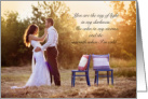 Will You Be My Husband Garden Theme Couple in Love card