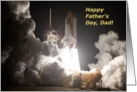 Dad, Happy Father's Day! Blast Off! card