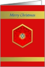 Merry Christmas, Star of Bethlehem card